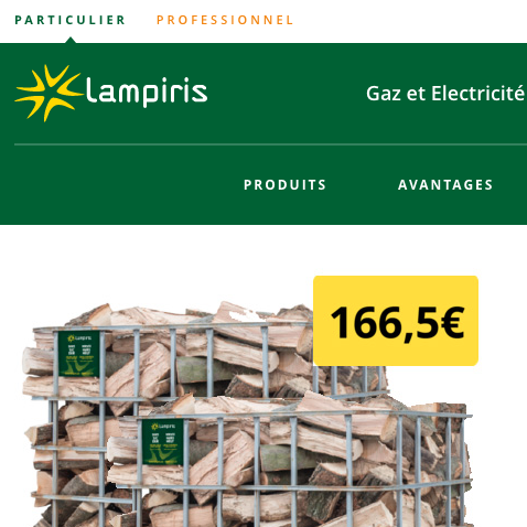 Preview site lampiris.be